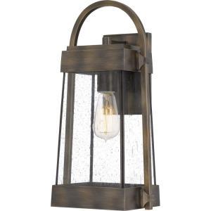 Ellington 17.5 Inch Outdoor Wall Lantern Transitional Aluminum