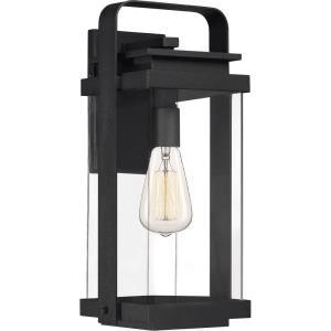 Exhibit 16.25 Inch Outdoor Wall Lantern Transitional Aluminum Approved for Wet Locations