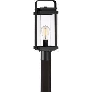 Exhibit - 1 Light Outdoor Post Lantern - 19.5 Inches high