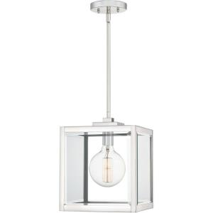 Ferguson - 1 Light Small Mini Pendant in Transitional style - 10 Inches wide by 12.75 Inches high