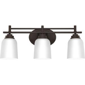Foley 3 Light Transitional Bath Vanity - 8.5 Inches high