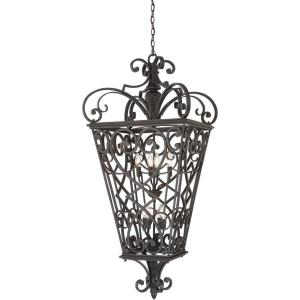 Fort Quinn - 8 Light Extra Large Hanging Lantern - 52 Inches high