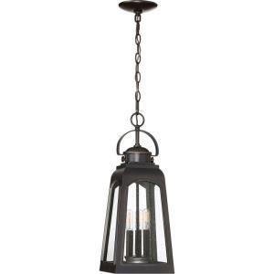 Guardsman - 3 Light Outdoor Hanging Lantern - 20.75 Inches high