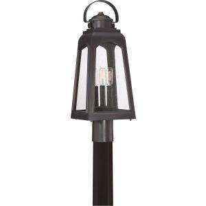 Guardsman - 3 Light Outdoor Post Lantern - 21.75 Inches high