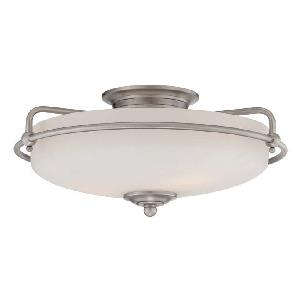 Griffin - Three Light Semi-Flush Mount