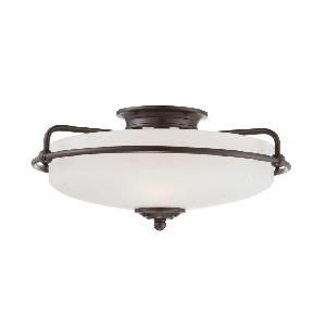 Griffin - 3 Light Semi-Flush Mount