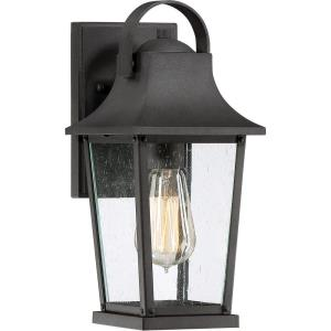 Galveston 12.5 Inch Outdoor Wall Lantern Transitional Aluminum Approved for Wet Locations