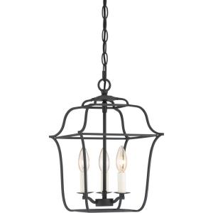 Gallery Large Cage Chandelier 3 Light  Steel