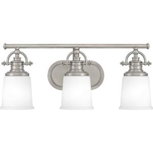 Grant 3 Light Transitional Bath Vanity - 9.5 Inches high