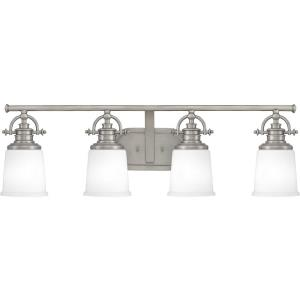 Grant 4 Light Transitional Bath Vanity - 9.5 Inches high
