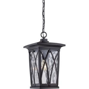 Grover - 1 Light Outdoor Hanging Lantern - 17.5 Inches high