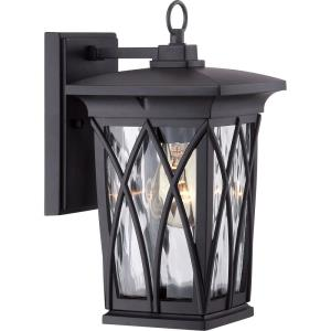Grover 11 Inch Outdoor Wall Lantern Transitional Aluminum