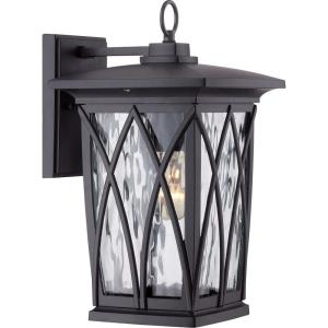 Grover 14.5 Inch Outdoor Wall Lantern Transitional Aluminum