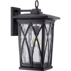 Grover 17.5 Inch Outdoor Wall Lantern Transitional Aluminum