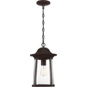 Hogan - 1 Light Outdoor Hanging Lantern - 15.25 Inches high
