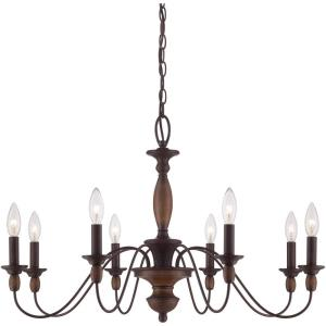 Holbrook Chandelier 8 Light - 19.5 Inches high