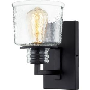 Holden - 1 Light Small Wall Sconce in Transitional style - 6 Inches wide by 9.25 Inches high