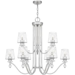Hollister - 9 Light Chandelier in Transitional style - 34.25 Inches wide by 30.5 Inches high