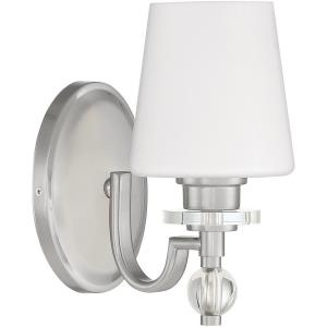 Hollister 1 Light Contemporary Bath Vanity Approved for Damp Locations