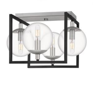 Kane - 4 Light Semi-Flush Mount