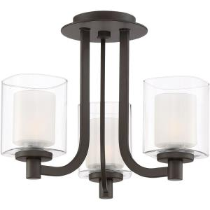 Kolt - 3 Light Semi-Flush Mount