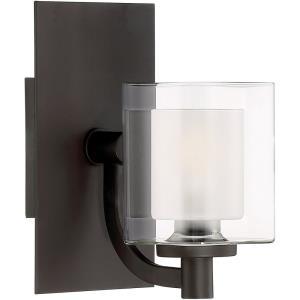 Kolt 1 Light Transitional Bath Vanity - 9 Inches high