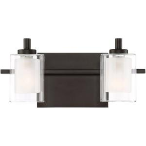 Kolt 2 Light Transitional Bath Vanity - 6 Inches high