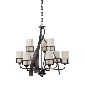 Kyle - Nine Light 2-Tier Chandelier
