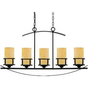 Kyle Island Chandelier 5 Light  Steel