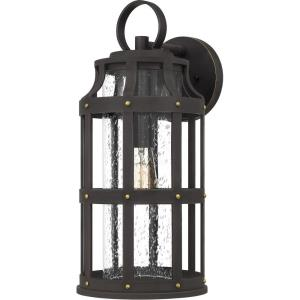 Lassiter 19.5 Inch Outdoor Wall Lantern Transitional Coastal Armour