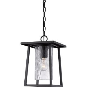 Lodge - 1 Light Outdoor Hanging Lantern - 13.5 Inches high