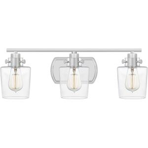 Ledger - 3 Light Large Bath Vanity in Transitional style - 23 Inches wide by 7.5 Inches high