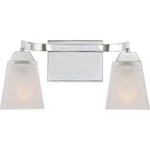 Loft 2 Light Contemporary Bath Vanity - 7.5 Inches high