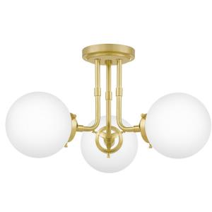 Landry - 3 Light Semi-Flush Mount