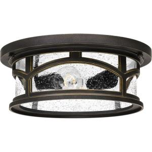 Marblehead - 2 Light Outdoor Flush Mount - 5 Inches high