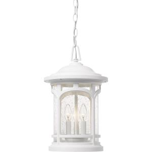 Marblehead - 3 Light Outdoor Hanging Lantern - 18 Inches high