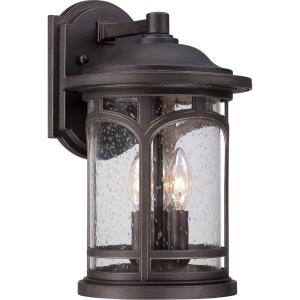 Marblehead - 3 Light Outdoor Wall Mount - 14.5 Inches high