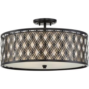 Boutique - Four Light Semi-Flush Mount