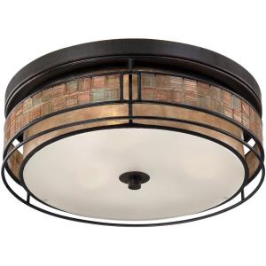 Laguna - 3 Light Outdoor Flush Mount
