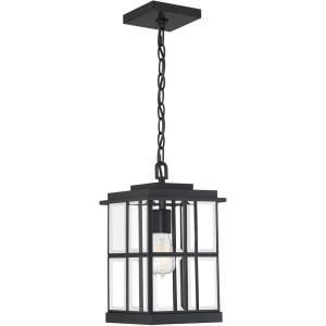 Mulligan - 1 Light Outdoor Hanging Lantern - 13.75 Inches high