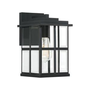 Mulligan 13 Inch Outdoor Wall Lantern Transitional Steel - 13 Inches high