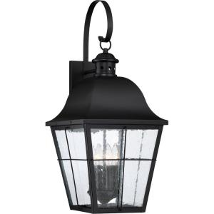 Millhouse 27.25 Inch Outdoor Wall Lantern Transitional Steel