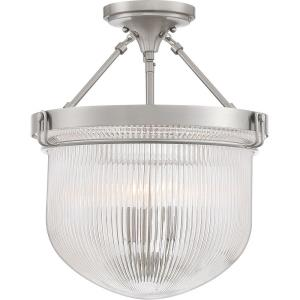 Murphy - 3 Light Semi-Flush Mount - 17.5 Inches high
