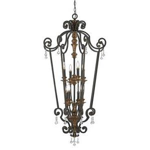 Marquette - 8 Light Cage Chandelier