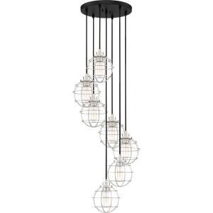 Navigator - 7 Light Pendant - 8 Inches high