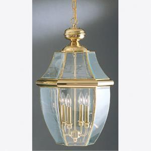 Newbury - 4 Light Extra Large Hanging Lantern - 26.5 Inches high