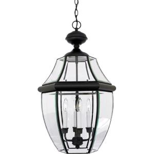 Newbury - 4 Light Extra Large Hanging Lantern - 26.5 Inches high