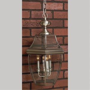 Newbury - 4 Light Outdoor Pendant - 26.5 Inches high