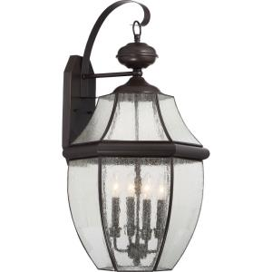 Newbury 29 Inch Outdoor Wall Lantern Traditional
