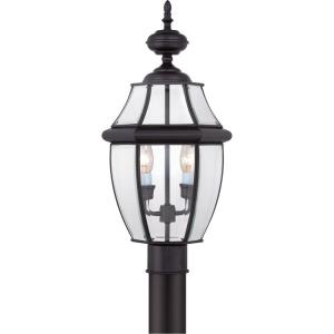 Newbury - 2 Light Large Post Lantern - 21 Inches high